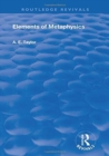 Elements of Metaphysics - Book
