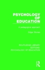 Psychology of Education : A Pedagogical Approach - Book