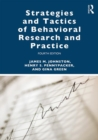 Strategies and Tactics of Behavioral Research and Practice - Book