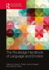 The Routledge Handbook of Language and Emotion - Book