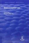 Environmental Law - Book