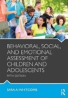 Behavioral, Social, and Emotional Assessment of Children and Adolescents - Book