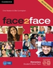 Face2face Elementary Student's Book with DVD-ROM and Online Workbook Pack - Book