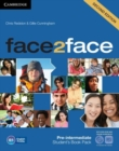 Face2face Pre-intermediate Student's Book with DVD-ROM and Online Workbook Pack - Book