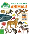Outdoor School: Spot & Sticker Animals - Book