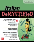 Italian Demystified, Premium 3rd Edition - eBook