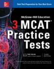 McGraw-Hill Education 3 MCAT Practice Tests, Third Edition - eBook