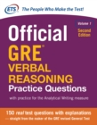 Official GRE Verbal Reasoning Practice Questions, Second Edition, Volume 1 - eBook