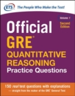 Official GRE Quantitative Reasoning Practice Questions, Second Edition, Volume 1 - Book