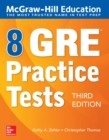 McGraw-Hill Education 8 GRE Practice Tests, Third Edition - eBook