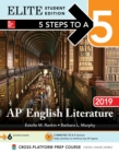 5 Steps to a 5: AP English Literature 2019 Elite Student edition - eBook