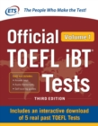 Official TOEFL iBT Tests Volume 1, Third Edition - eBook