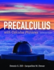 Precalculus With Calculus Previews - Book