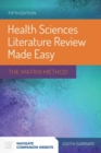 Health Sciences Literature Review Made Easy - Book
