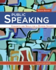 Public Speaking : Concepts and Skills for a Diverse Society - Book