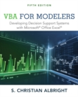 VBA for Modelers : Developing Decision Support Systems with Microsoft (R) Office Excel (R) - Book