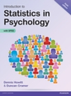 Introduction to Statistics in Psychology - eBook
