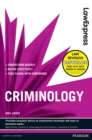 Law Express: Criminology (Revision Guide) - eBook
