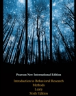 Introduction to Behavioral Research Methods: Pearson New International Edition - eBook