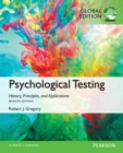 Psychological Testing: History, Principles, and Applications, Global Edition - Book