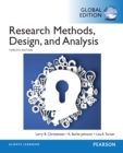 Research Methods, Design, and Analysis, Global Edition - eBook