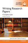 Writing Research Papers: A Complete Guide, Global Edition - Book