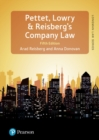 Pettet, Lowry & Reisberg's Company Law, 5th edition : Company Law & Corporate Finance - Book
