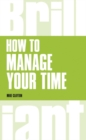How to manage your time - Book