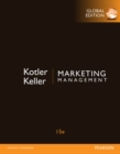 Marketing Management, Global Edition - Book