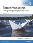 Entrepreneurship: Starting and Operating A Small Business, Global Edition - eBook