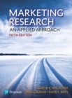 Marketing Research : An applied approach - Book