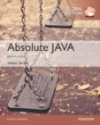 Absolute Java, Global Edition - Book