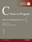 C How to Program, Global Edition - Book
