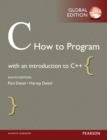 C How to Program, Global Edition - eBook