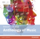 Edexcel GCSE (9-1) Anthology of Music CD - Book