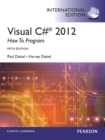Visual C# 2012 How to Program, International Edition - eBook