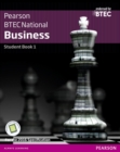 BTEC Nationals Business Student Book 1 + Activebook : For the 2016 specifications - Book