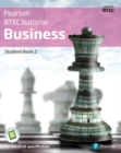 BTEC Nationals Business Student Book 2 + Activebook : For the 2016 specifications - Book