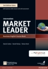 Market Leader 3rd Edition Extra Intermediate Coursebook with DVD-ROM and MyEnglishLab Pack - Book