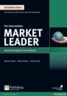 Market Leader 3rd Edition Extra Pre-Intermediate Coursebook with DVD-ROM Pack - Book