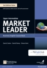 Market Leader 3rd Edition Extra Upper Intermediate Coursebook with DVD-ROM and MyEnglishLab Pack - Book