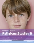 Edexcel GCSE (9-1) Religious Studies B Paper 1: Religion and Ethics - Christianity Student Book - Book