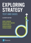 Exploring Strategy : Text and Cases - Book