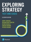 Exploring Strategy : Text and Cases - eBook