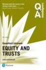 Law Express Question and Answer: Equity and Trusts - eBook