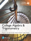 College Algebra and Trigonometry, Global Edition - Book
