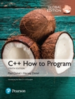 C++ How to Program, Global Edition - Book
