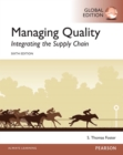 Managing Quality: Integrating the Supply Chain, Global Edition - eBook