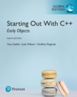 Starting Out with C++: Early Objects, Global Edition - eBook