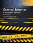 Criminal Behavior: A Psychological Approach, Global Edition - eBook